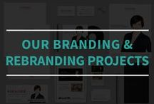 Our Branding & Rebranding Projects / These are some of the branding and rebranding projects that we've done for some of our clients.