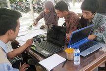 Aktivitas Mahasiswa / Aktifitas Mhs di lingkungan kampus POLSA yg asri & nyaman