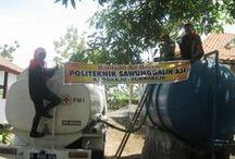 Pemberian Bantuan Air Bersih / Bantuan Air Bersih di desa Rowodadi Grabag PWR - 23 Okt 2014
