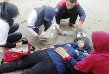 Diklat KSR PMI Unit POLSA / Diklat KSR PMI Unit Politeknik Sawunggalih Aji (POLSA) - 22 Feb 2014