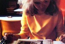 Debbie haRRy / Blondie and this beautiful woman called Deborah Harry