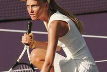 playing tennis / by MarinaSpelzon