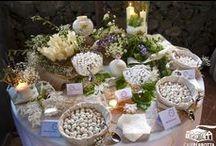 Confettate Matrimonio Shabby Chic - Shabby Chic Wedding Jordan Almonds / Le confettate di Case Perrotta con confetti di tutti i gusti