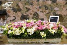 Decorazioni floreali matrimoni - Wedding Flower Decorations / Ogni matrimonio ha il suo stile e i suoi colori: i fiori più belli di Case Perrotta!