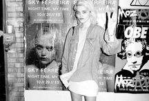 Sky Ferreira (returned) / Again
