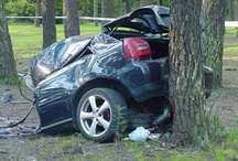 Car Crashes / Check out these pictures of scary accidents.  Remember - speed kills.