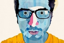 Alvaro Universe / He is working in illustration using a combination of traditional techniques and digital image processing. 