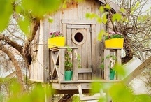 Tree Houses for Children / Crocodile Outdoors for Jungle Gym Climbing Frames. But we love Tree Houses, those for children and ones for big kids too!