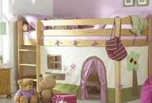 Girls Bedroom Ideas / Ideas and cool things for that special little girl in your life. Cool bedroom furniture, beds and furnishings.