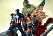 Avengers.  / A board to express my slight obsession with the Avengers.