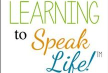 Learning to Speak Life / The premise of the Learning to Speak Life™ radio show is founded upon Proverbs 18:21 (NLT): The tongue can bring death or life; those who love to talk will reap the consequences.The show will be relevant for new believers as well as the seasoned saints as no one has their tongue under control. But the good news? God has blessed us with His powerful, life-giving word to speak life in situations where there seems to be no hope. http://ultimateradioshow.com/show-hosts/learning-to-speak-life/