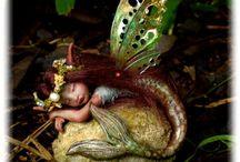 FAIRIES & GNOMES / Love this fantasy world! / by Elaine Dreger