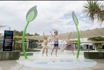 Splash Zone - Gladstone Regional Council / Our Brief was to create a fun, educational and state of the art water play park.