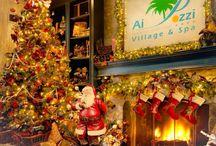 #Natale Ai Pozzi Village SPA  / Programma delle feste dal 23/12/2013 al 06/01/2014 intrattenimento Ai Pozzi Village SPA !