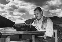 The Hemingway's / Great adventurer and wonderful writer! / by Elaine Dreger