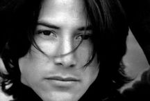 Keanu Reeves / Always been a favorite, just so unusual looking! / by Elaine Dreger
