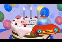 Kids ♥ Birthdays! / Birthdays are the best! Ideas for birthday cakes, birthday parties, happy birthday songs, birthday presents, birthday cards and even birthday apps! Everything you need to celebrate the toddler's special day. Happy birthday!