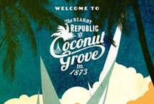 Travel Posters | Coconut Grove