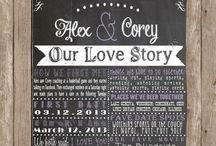 Love Story Invites