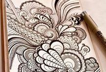 henna/mandala