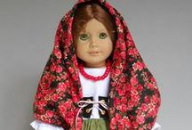American Girl Doll - Folk/ Regional Outfits / Favorite projects from online shops