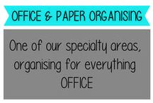 Office and Paper Organising / Home Filing Systems