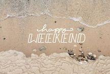 >> happy weekend!
