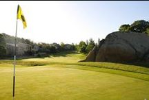 Golf / Thousands of majestic live oaks, an abundance of well-placed bunkers, enormous granite outcroppings and an ever-changing topography highlight this challenging championship layout amid wetlands that are home to various species of indigenous wildlife.