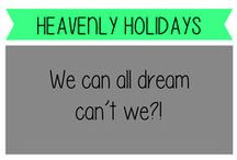 Heavenly holidays / Passport dreaming