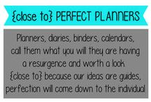 (Close to) Perfect Planners / Only 'close to' because I customised mine