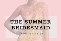 The Summer Bridesmaid / Your best friend gets married only once (hopefully)! So you have once one chance to get it right and dazzle everyone by putting your best bridemaid foot forward. With summer at it's peak, think bright, think sheer and think minimal when choosing your bridesmaid looks for this summer wedding season. We curate our favorite summer bridemaids looks for the season.  Rent the look now at: http://bit.ly/Stage3Collection