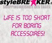 styleBREAKER - Shoppingweisheiten / Shoppingweisheiten, die jede Frau kennen sollte!