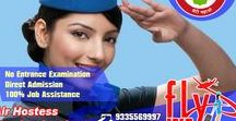 Flyway Air Hostess Institute / Flyway Institution of training and placements Pvt. Ltd. is one of the best aviation training institute and placement institutes in India. Aviation, being a broad field, offers you a great deal of aviation course in Lucknow and preparing programs in different segments.
