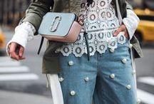 TREND Perlen / Perlen Trends - Perlen sind dieses Jahr ein Muss, egal ob auf Jeans, Jeansjacken oder einfach nur auf Shirts. Man kommt einfach nicht dran vorbei! Wir haben euch die schönsten Beispiele zusammengestellt :)
