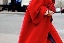 TREND Rot / Rot ist die Farbe im Herbst, an der ihr nicht vorbeikommt! Wir haben für euch die tollsten Kombinationen gesammelt!