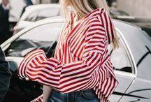 FASHION Stripes / Fashion Trends Streifen Stripes Modern 2017