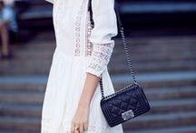 TRENDFARBE weiß / Weiß ist die Farbe des Sommers und hier findet ihr einige tolle Kombinationsmöglichkeiten mit der Trendfarbe!