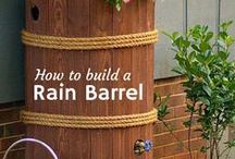 Rain Barrels & Chains for Water Quality Solutions