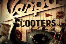 Vespa - Lambretta - Scooters. Mod Fashion