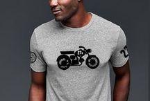 The Moped T-Shirts / En The Moped, tú eres el protagonista, cada prenda es única y se hace exclusivamente para ti.