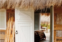 Boho Beach Houses / Boho inspired beach houses...