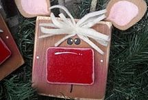 Xmas Eve Crafts / Simple and inexpensive Christmas crafts for the kids, and some more in-depth projects for our house.