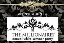 ❤MILLIONAIRES' Blanc Summer Gala / MILLIONAIRES' BLANC SUMMER GALA. Please put mostly all pins in *WHITE* with some black if you wish. THANK YOU THOSE WHO CONTRIBUTE AND MAKE THIS BOARD SO BEAUTIFUL!  FOLLOWERS, THANK YOU ALSO. Thank you for being respectful on my boards (you make it easy to show respect back). Love and blessings to all. Bella Donna.