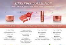 Vine Vera Zinfandel Collection / Because of the effects of the harsh sun and the natural effects of aging, your skin begins to lose its balanced and uniform tone. This collection will help even the quality of your skin and eliminate the signs of aging.