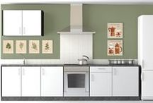 Kitchen Inspiration / Decorating tips and inspiration for the kitchen — the heart of the home!