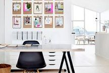 Home Office Inspiration / Make your workspace inspiring!