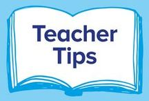 Teacher Tips / Tips, advice, and classroom hacks for teachers everywhere. Find more at http://blog.pobble.com/category/teaching-resources