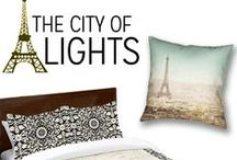 Paris - City of Lights / Transport yourself to the City of Lights with Paris-themed decor!