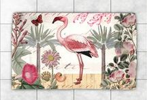 Accent Rugs / Brighten any room with a fun and stylish artist-designed accent rug!