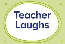 Teacher Laughs / Because its a job as rewarding as it is sometimes absurd... from the team at pobble.com